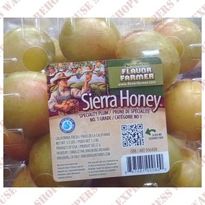 Sierra Honey Plums