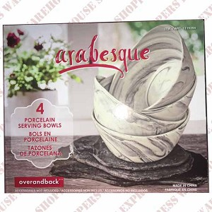 Arabesque Porcelain Serving Bowls