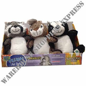 Happy Tails Woodland Critters Dog Toys