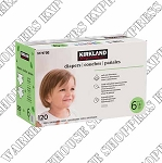 Kirkland Signature Junior Diapers Size 6