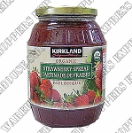 Kirkland Signature Organic Strawberry Spread (Jam)