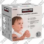 Kirkland Signature Size 3 Diapers