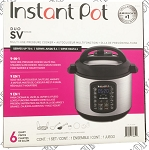 Instant Pot Duo SV Pressure Cooker