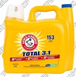 Arm & Hammer Total 3 in 1 Liquid Laundry Detergent