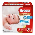 Huggies Size 1 Little Snuggle Diapers