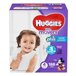 Huggies Size 4 Little Mover Diapers