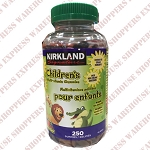Kirkland Signature Children's Multi-Vitamin Gummies 80% Organic