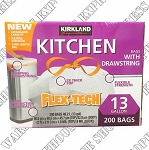 Kirkland Signature Tall Flex-Tech Kitchen Garbage Bags