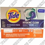 Tide Power Pods. Hygienic clean.