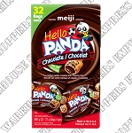 Meiji Hello Panda Chocolate Bite Sized  Cookies
