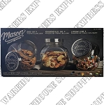 Mason Glass Cannister Storage Set